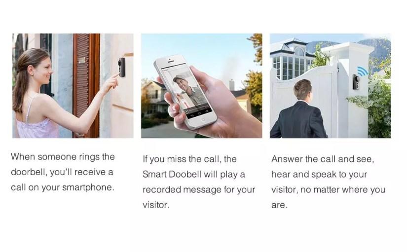 Zmodo Greet Smart WiFi Video Doorbell features