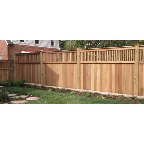 Medium Crop Of Backyard Fence Idea