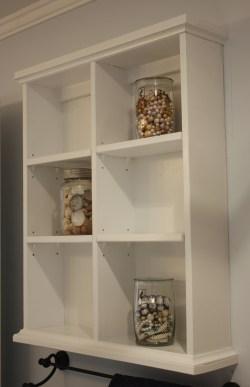 Small Of Shelves Bathroom Wall