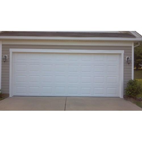Medium Crop Of Double Garage Door