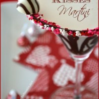 Hugs & Kisses Martini for Valentine's Day