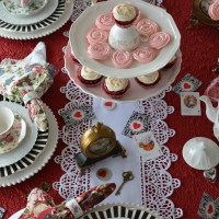 Tea with Alice and a Wonderland-inspired Table for Valentine's Day!