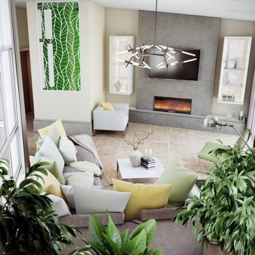 Medium Of Living Room Interior Decor