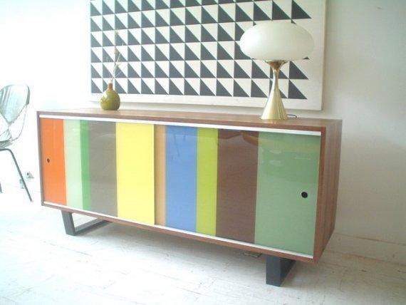 Modern Storage Credenze Colorful Colors  Home Lilys design ideas