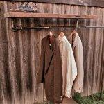Multifunction Industrial Pipe Coat Rack 4