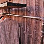 Multifunction Industrial Pipe Coat Rack 5