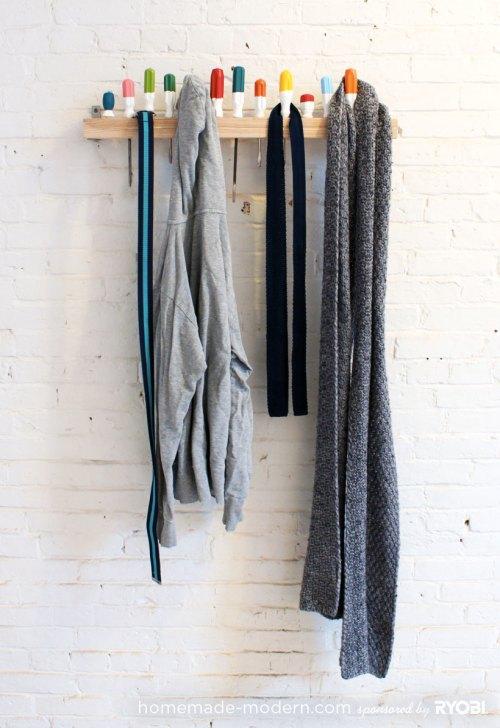 Medium Of Modern Coat Rack