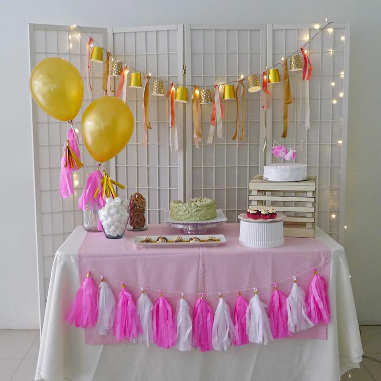 Homemade Parties How to do DIY Dessert Table 02