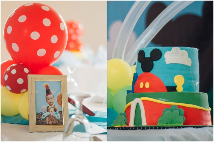 Homemade Parties DIY Party _Mickey Mouse Party Nathan02