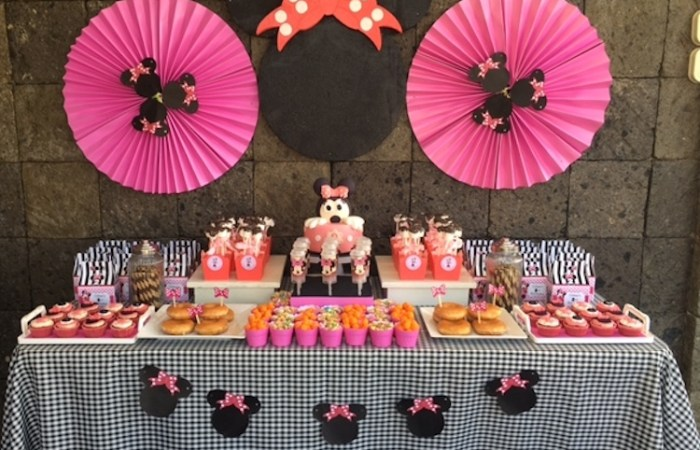 Mickey and Minnie Themed Parties