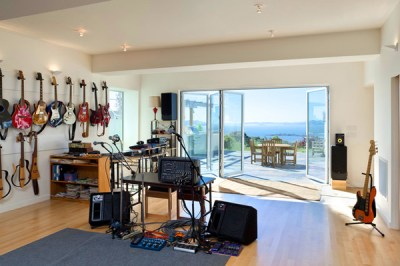 10 Cool And Modern Home Music Studios | Home Design And ...