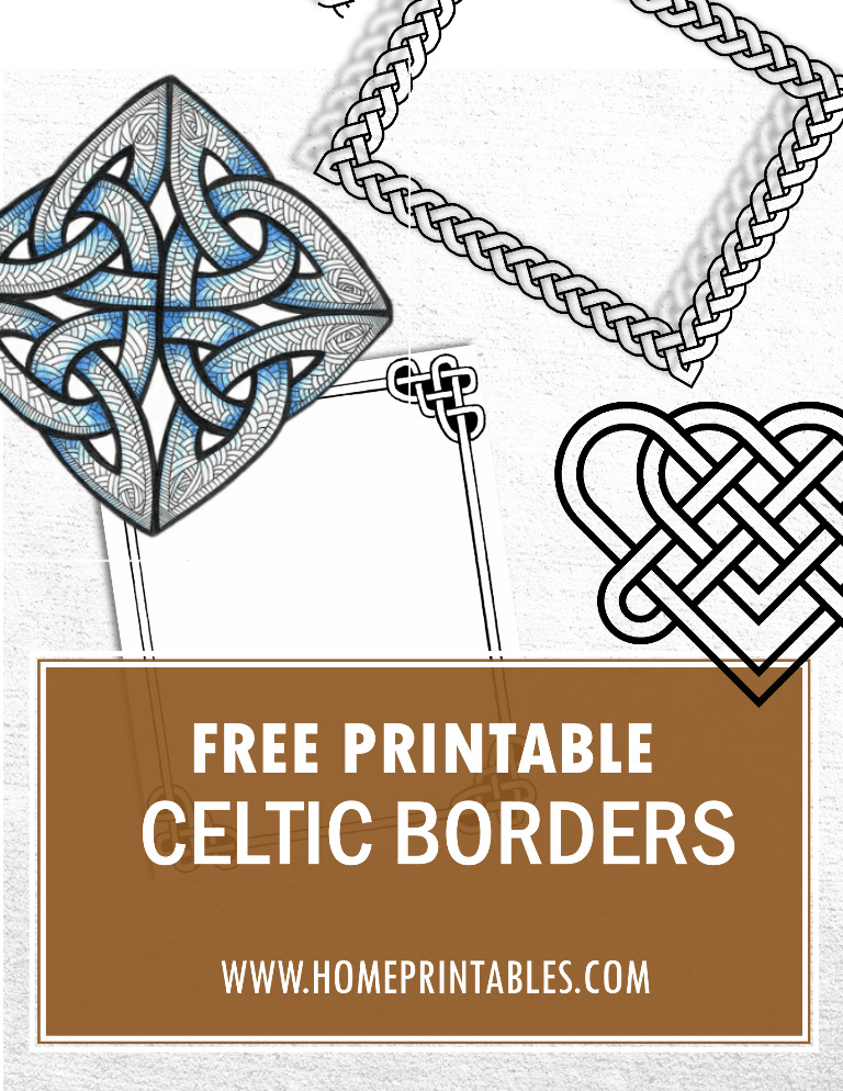 5 Outsanding Free Celtic Borders to Use!