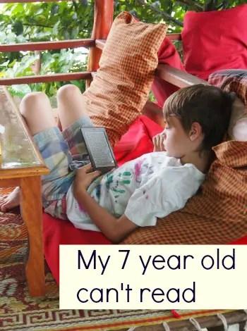 My 7 Year Old Can't Read   Homeschool Group Hug