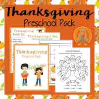 Thanksgiving Preschool Printable