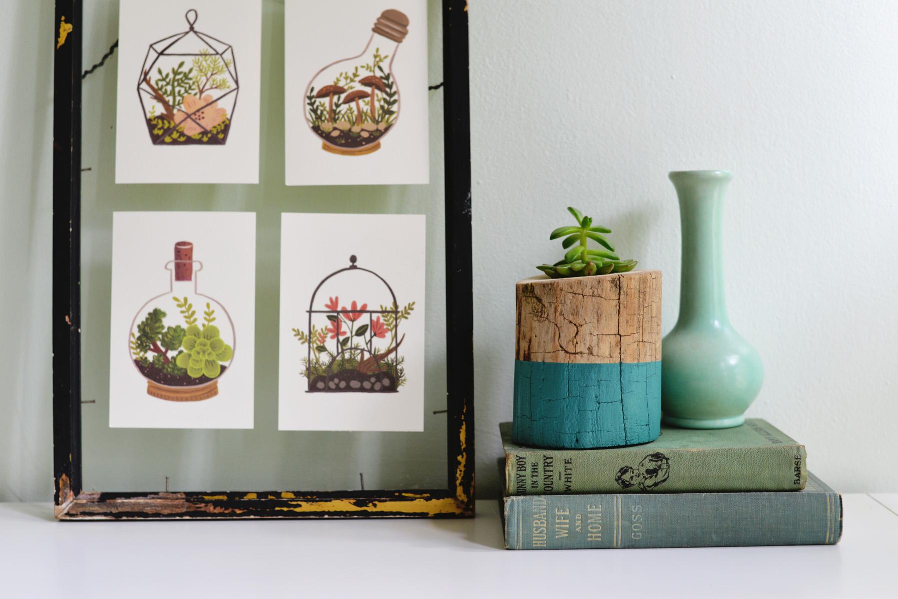 Smartly Trunk Planter 2015 Diy Cheap Easy Home Decoration Ideas Easy Diy Home Decorating Easy Diy Home Decorations home decor Easy Diy Home Decorating
