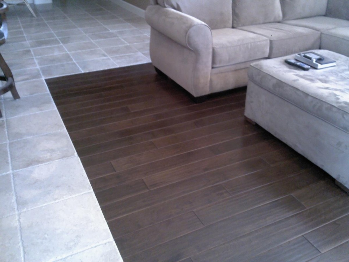 Tile To Wood Floor Transition Ideas Homesfeed