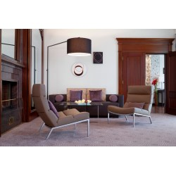 Perfect Metal Legs Reading Blacklear Sofa Reading That Give You Big Standing Chairs Brown Lounge Chairs