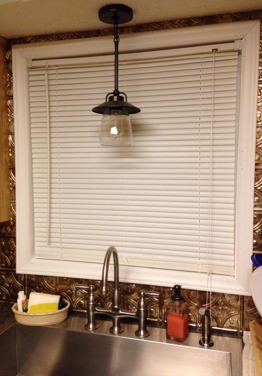 lighting over kitchen sink kitchen sink lighting Mason jar pendant lamp for kitchen sink lighting