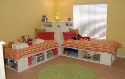 Small Of Twin Bed With Storage