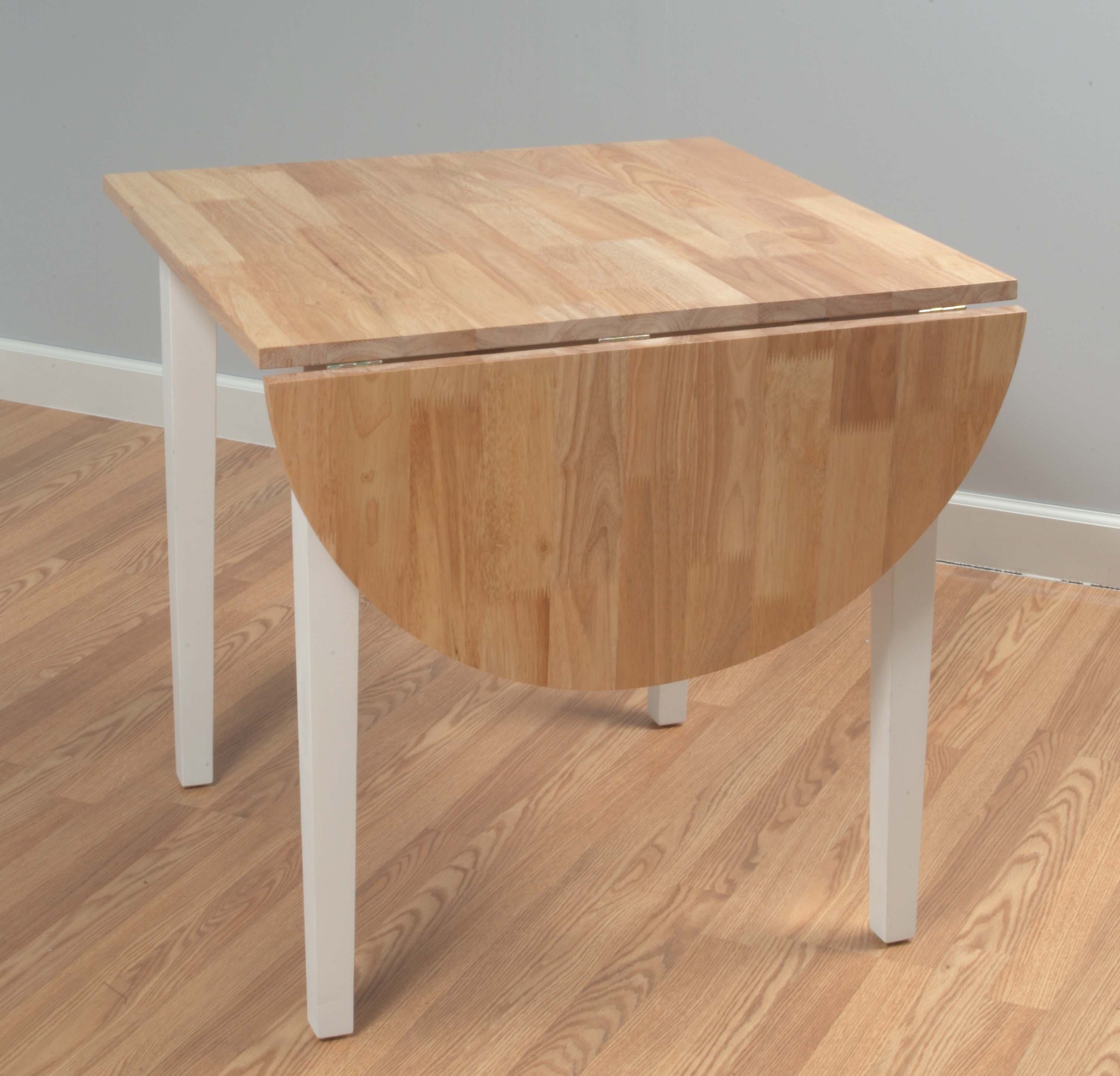 small dining table with folding leaves drop leaf kitchen tables Drop Leaf Tables For Small Spaces Homesfeed