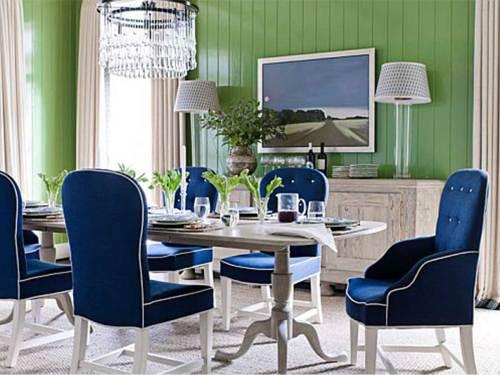 Medium Of Blue Dining Chairs