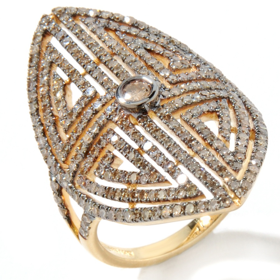 hsn jewelry designer carol brodie tell us about her first anniversary show later this month and what happens when j lo and hilary swank want the same pieces hsn wedding rings Michelle Trachtenberg s favorite Rarities piece