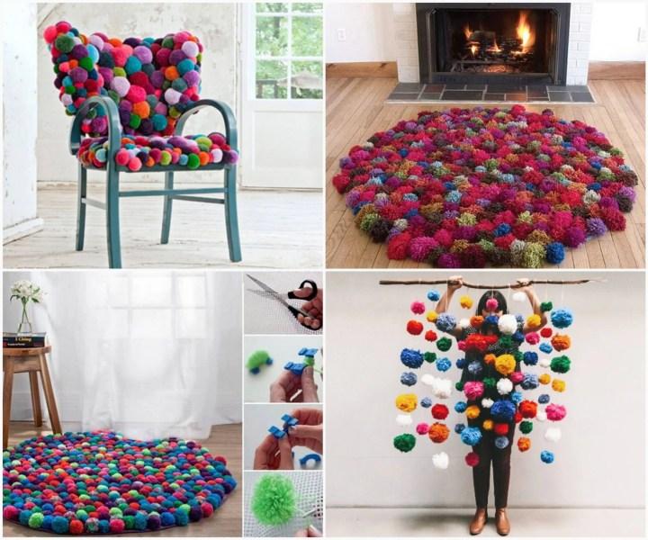 Pom-Pom Crafts and Ideas-homesthetics (11)