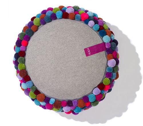 Cute colorful DIY Pom-Pom Crafts and Ideas-homesthetics (5)