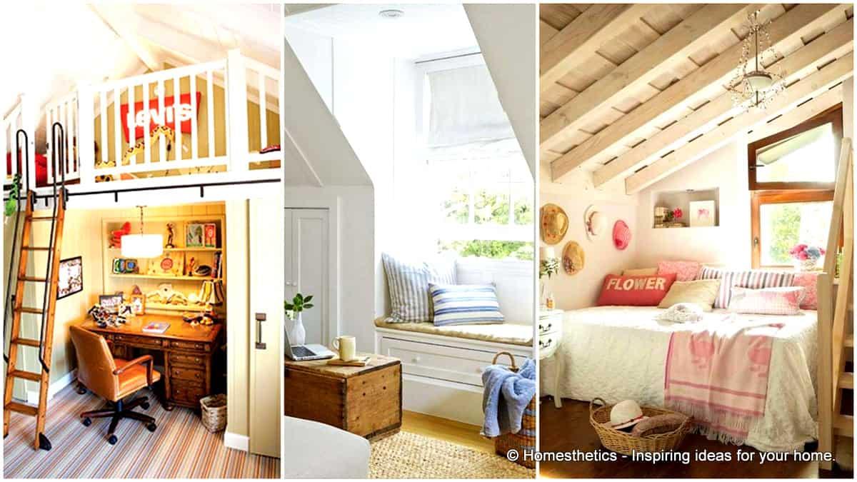 Spectacular Design Ideas For Unused Attic Space