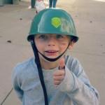 five year old hero
