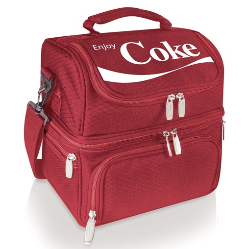 Coca-Cola Pranzo Red Insulated Lunch Bag Tote