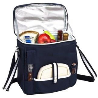 Picnic at Ascot 527-BLB Two Bottle Picnic Cooler
