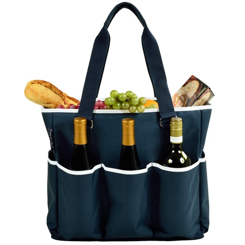 Picnic at Ascot 541-B Extra Large Multiple Pocket Cooler Tote