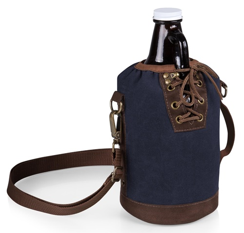 64 oz Glass Growler and Tote