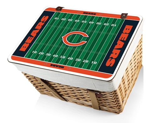 Chicago Bears Canasta Grande Picnic Basket