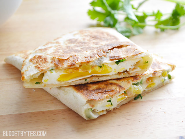 Green-Chile-Breakfast-Quesadillas-stack
