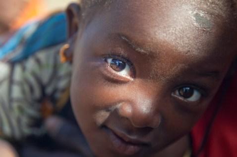 Petite fille Toucouleur, habitante du fleuve Sénégal