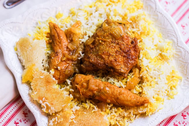 Chicken and Rice (Morgh Polo)-7