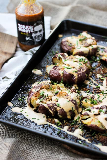Pork and Mindys Roasted Potatoes with Mustard Cream-7