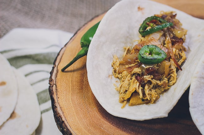 pulled chicken tacos with charred jalapenos-3