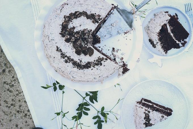 Cookies and Cream Cake-10