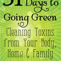 31 Days to Going Green to Enhance Your Life