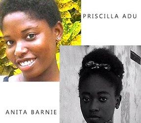 Priscilla Adu and Anita Barnie