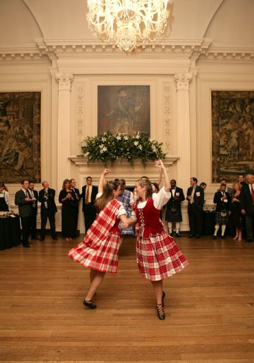 Dance display in Ballroom