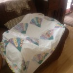 My lovely soft Pilly-quilt.