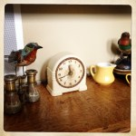 an eclectic assortment of tchotchkes
