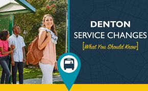 Denton COA Service Change blog