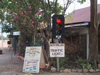 Australia's most remote traffic light