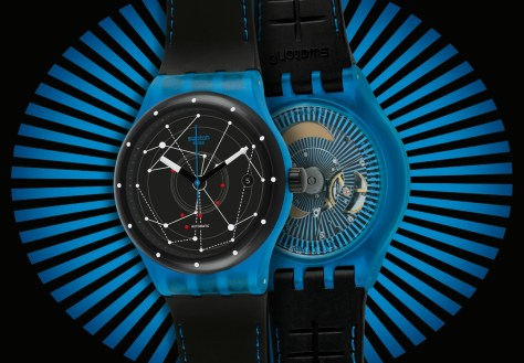 Swatch Sistem51 azul