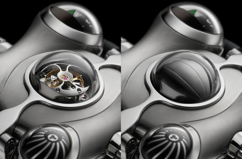 MB & F HM6 Space Pirate tourbillon